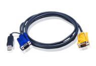 ATEN 2L-5203UP: ATEN USB Smart Cable For Legacy PS/2 KVM Switches, 3M (10Ft)