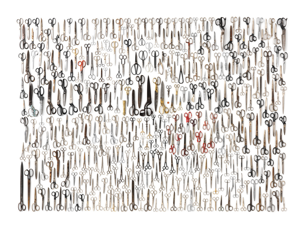 Jigsaw company lookup - New York Puzzle Company Scissor Collection Jigsaw Puzzle