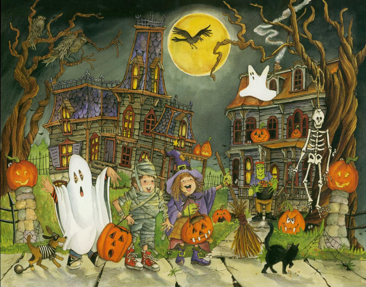 Halloween Puzzles Little Goblins 1000pc Jigsaws