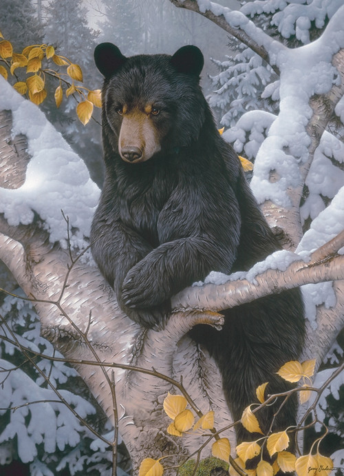 Black Bear 1000pc Jigsaw Puzzle by Cobble Hill