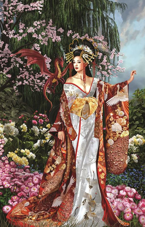 Nene Thomas Queen of Silk 1000pc Jigsaw Puzzle by