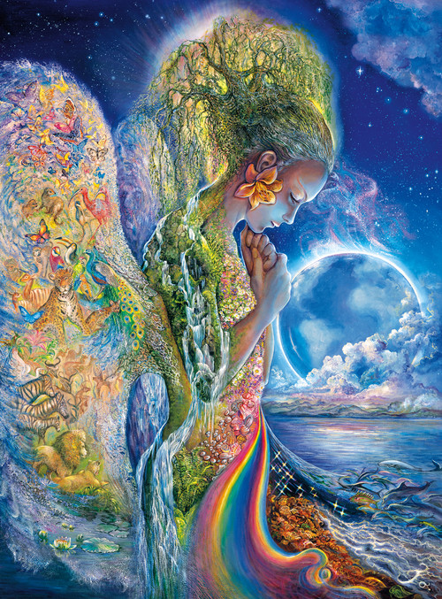 Josephine Wall The Sadness Of Gaia 1000pc Jigsaw Puzzle