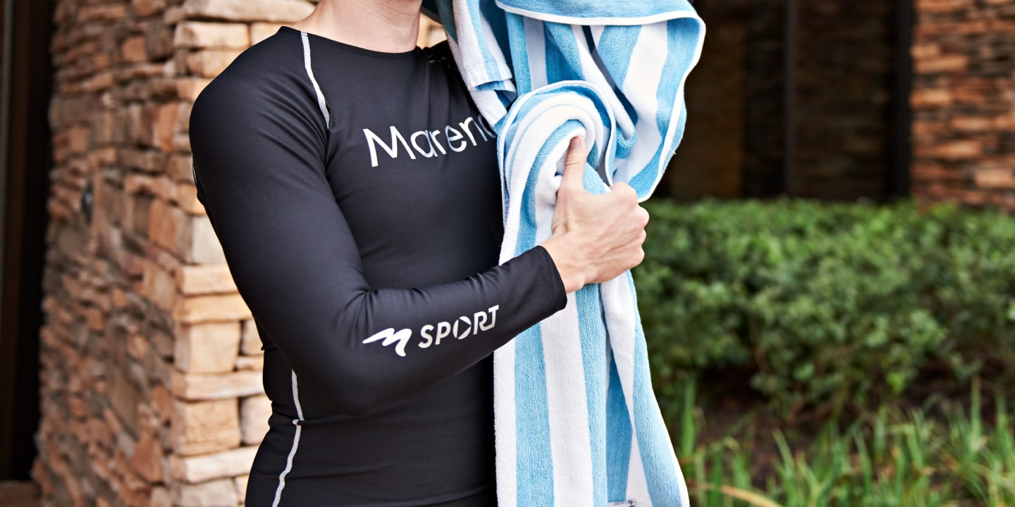 The best men's compression tops are Marena Sport