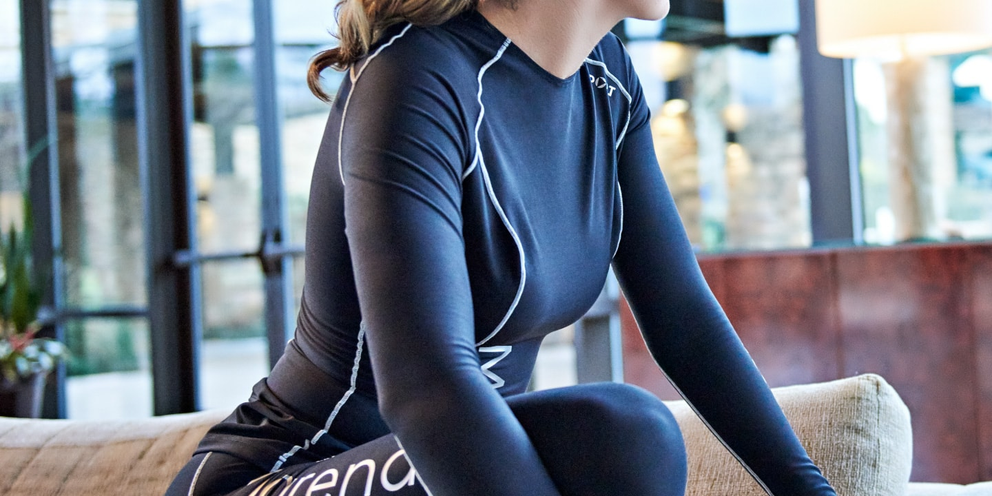 The best women's compression tops are Marena Sport