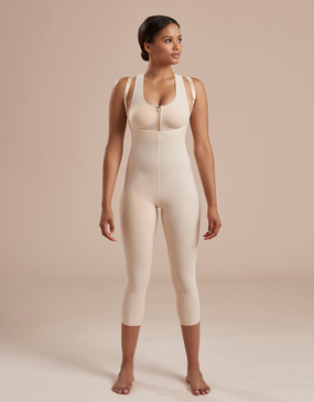 SFBHM2 | Capri Length Girdle with High-Back - Zipperless