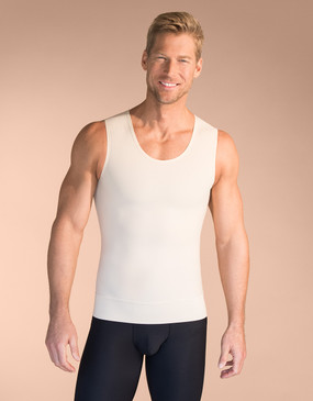 Sleeveless Compression Undershirt - Front View