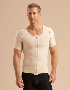 Marena Recovery MV/SS short sleeve compression vest (bottoms sold separately).
