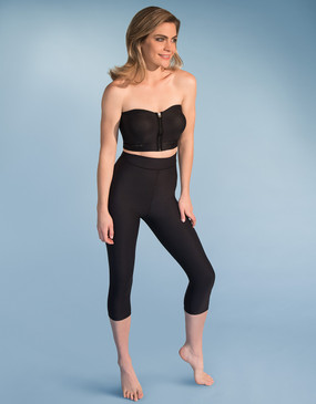 ME-521 | High-Waist Compression Capris