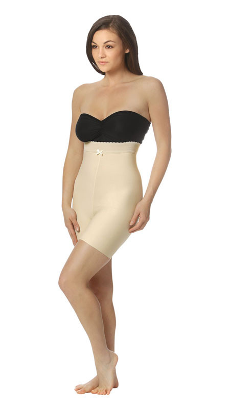 Mid Body Zipperless Compression Garment - Mid Thigh - Stage 2 (Marena) - OPENED