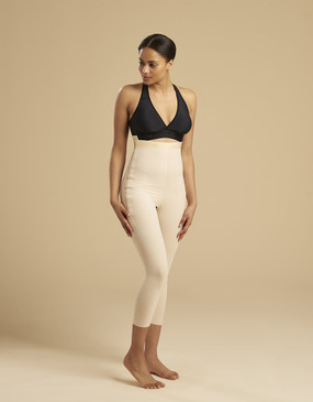 Marena Recovery LGM calf-length compression girdle, seen here with the ME-811 bra (sold separately).