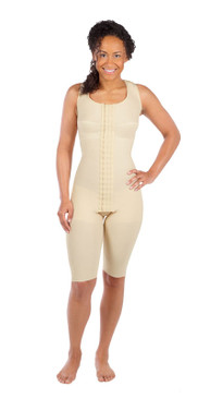 FTS | Sleeveless Compression Bodysuit - Above-the-Knee Length