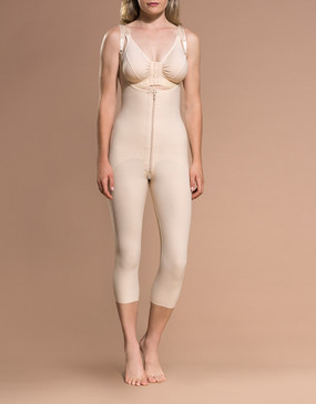 FBOM | Open Buttock - Capri-Length Girdle