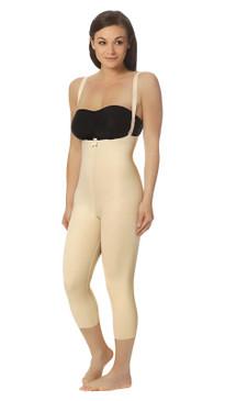 Marena Recovery FBM2 capri-length girdle with suspenders zipperless (bra not included).