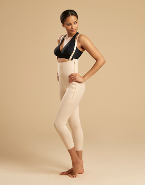 FBM | Capri-Length Girdle with Suspenders