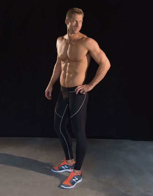 Marena Sport 609 elite compression legging for men.