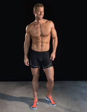 Marena Sport 604 pro compression shortie for men.