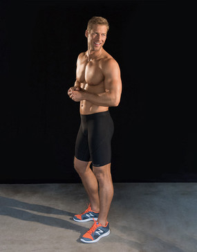 Marena Sport 605 pro compression shorts for men.