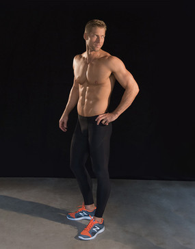 606 | Pro Compression Drawstring Legging for Men