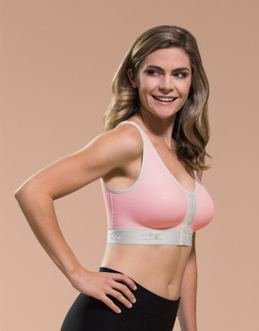 Marena Recovery B01GP wireless bra with pockets- seamless cup (bottoms sold separately).