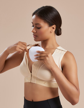 B16P | Full Coverage Bra with Pockets - Seamless Cup