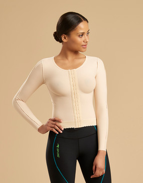 Marena Recovery FV2L compression vest, seen here with 226 compression leggings (sold separately).