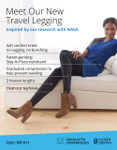 The ME-611 Compression Leggings for Travel Comfort Infographic.