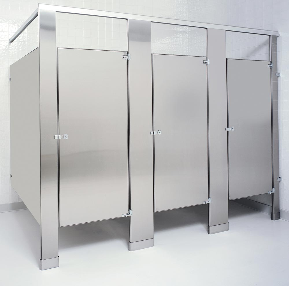 Toilet Partitions, Stainless Steel