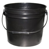 BLACK BUCKET/PAIL 5L/1.32 Gallon