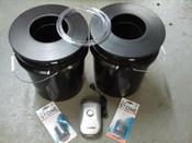 2 Bucket, 5 Gallon Budget DWC System