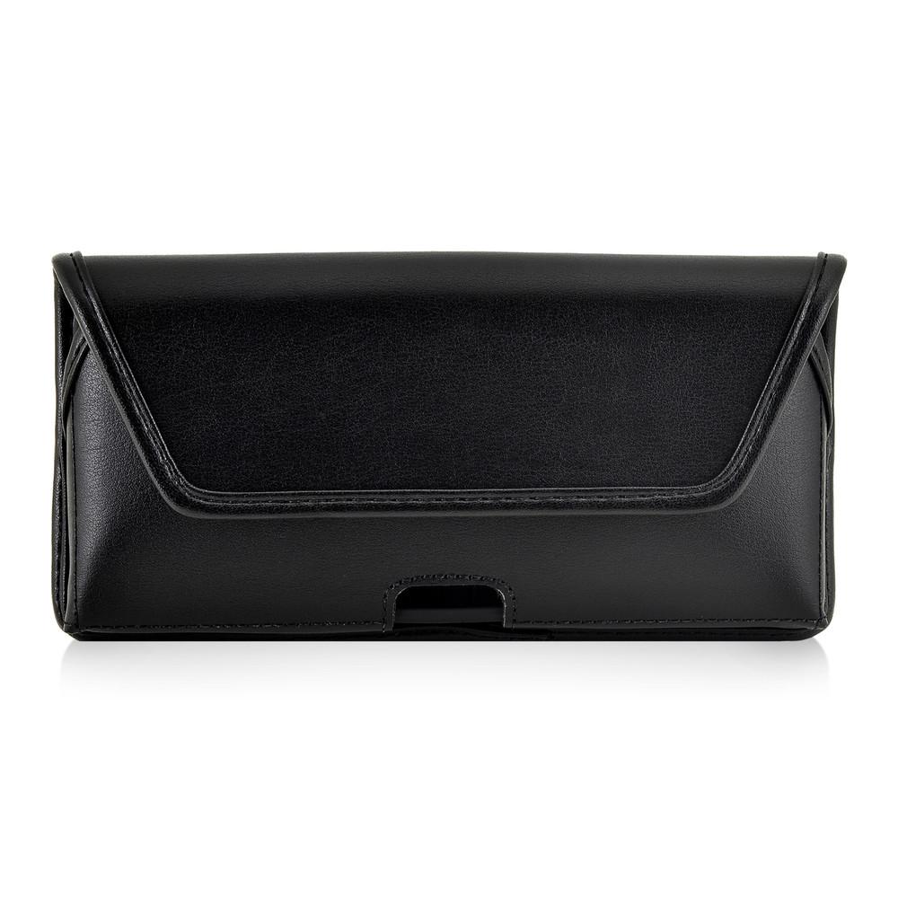 Samsung Note 8 Holster Black Belt Clip Case Pouch Leather Turtleback