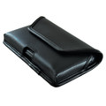 Galaxy S7 Edge Horizontal Leather Rotating Clip Holster