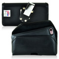 PhoneSuit Elite 6 Holster Metal Belt Clip Case Pouch Leather Horizontal Turtleback