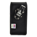 Galaxy S8 Plus Leather Vertical Holster Case Metal Belt Clip