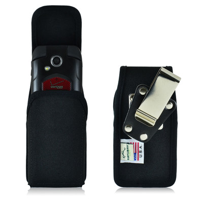 DuraXTP Vertical Nylon Holster Case, Metal Clip