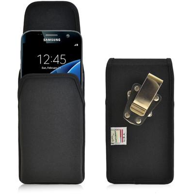 Galaxy S7 Vertical Nylon Rotating Clip Holster