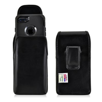 iPhone 7 Holster Vertical Black Belt Clip Fits Otterbox Defender Case