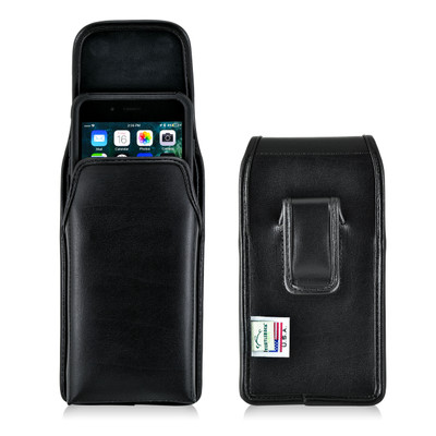 iPhone 7 Plus Holster Vertical Black Belt Clip Fits Otterbox Commuter