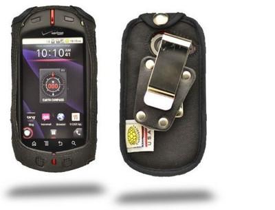 Casio GzOne Commando  Heavy Duty Case with Rotating Metal Belt Clip
