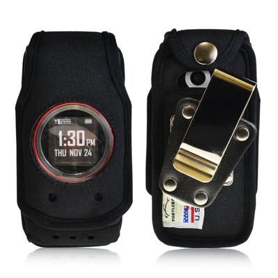 Casio GzOne Ravine 2 Heavy Duty Nylon Case with Rotating Metal Clip