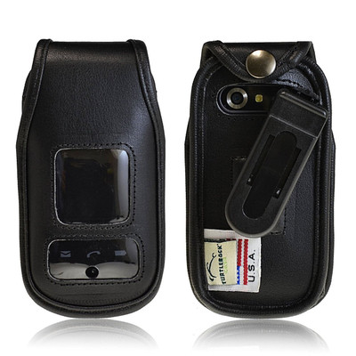 Pantech Breeze 4 IV  Executive Leather Case
