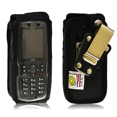 Sonim Strike XP3410 IS Heavy Duty Nylon Phone Case with Rotating Removable Metal Clip