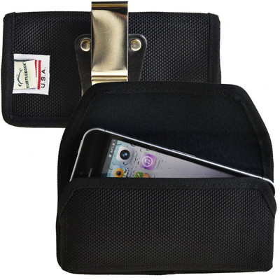 iPhone 5/5S/SE Horizontal Nylon Rotating Clip Holster