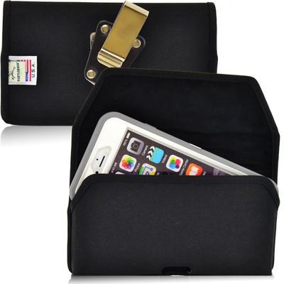 iPhone 6 Plus/6S Plus Extended  Horizontal Nylon Rotating Clip Holster