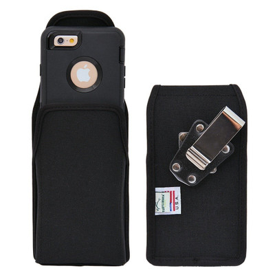 iPhone 6/6S Extended  Vertical Nylon Rotating Clip Holster
