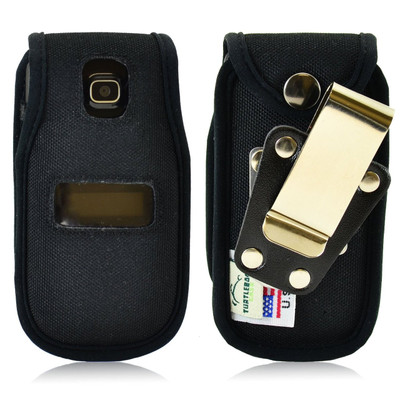 Alcatel Tracfone  A392G Nylon Fitted Phone Case, Rotating Metal Belt Clip