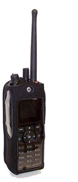 Motorola R765 2-Way Radio Heavy Duty Nylon Phone Case with Rotating Metal Clip