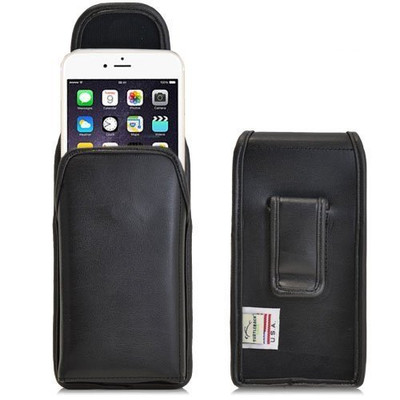 iPhone 6/6S Vertical Leather Fixed Clip Holster