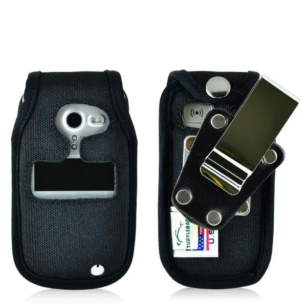 Doro PhoneEasy 626 Flip Phone Fitted Case Black Nylon