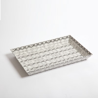 Leather Tray- Python - Small