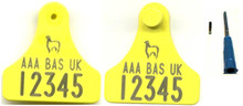 BAS2, Flag Tag and 11mm Microchip